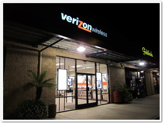 Verizonのお店