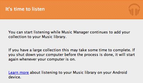 It's Time to Listen! アップロードしたモノからどんどん聞けるようになります